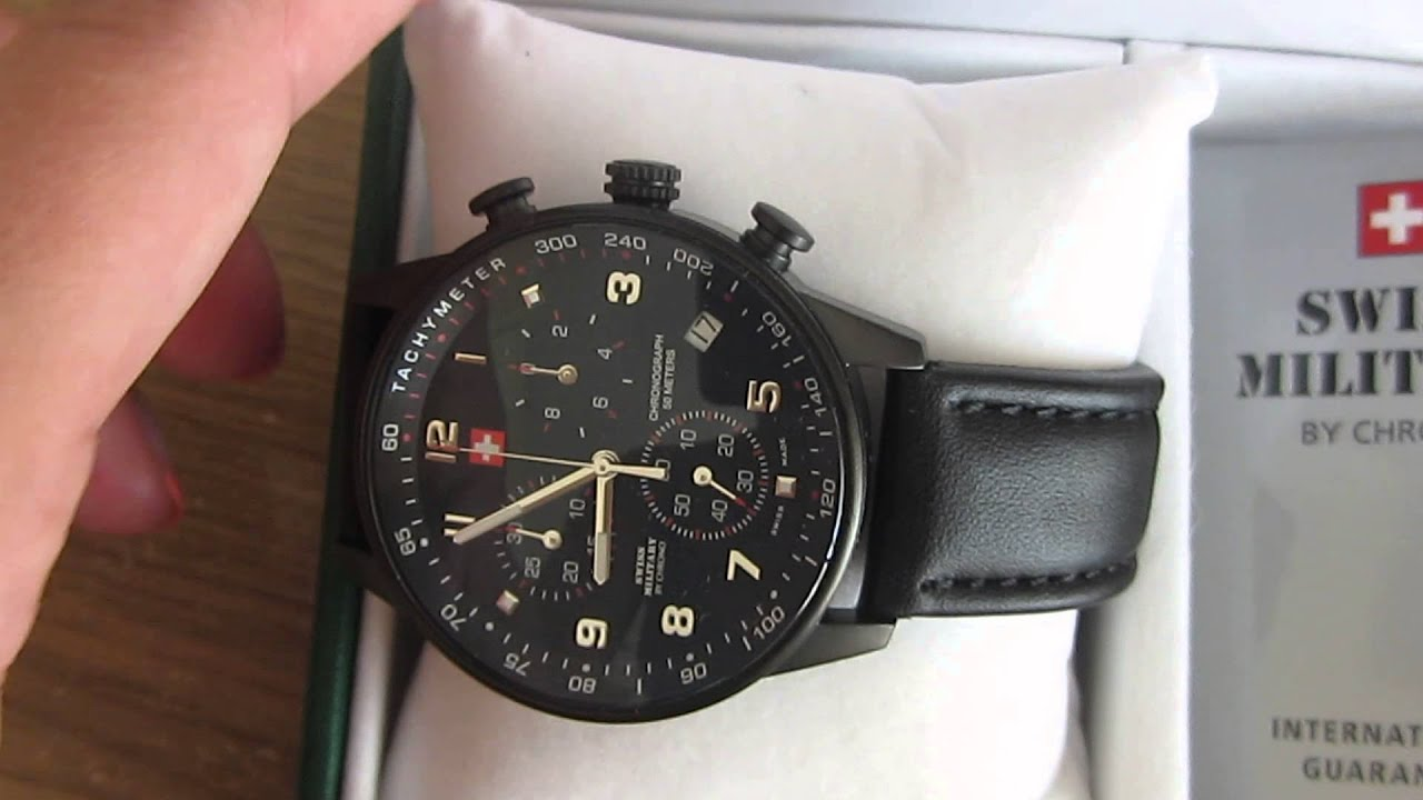 Orient Watches Swiss Military By Chrono 20042bpl-1l - Youtube
