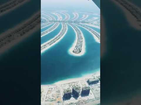 Palm Island Dubai View