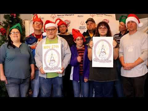 2018 Festival of Trees Kick Off Video for Special Olympics Wyoming