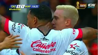 Gol de L. Ramos | Cruz Azul 0 - 1 Lobos BUAP | LIGA Bancomer MX - Apertura 2018