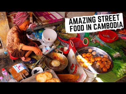 Asia's FORGOTTEN STREET FOOD   Amazing Cambodian street food in Battambang, CAMBODIA   KHMER food