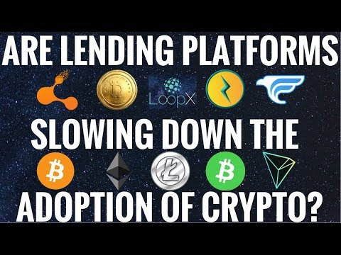 Are Lending Platforms Slowing The adoption Of Crypto?