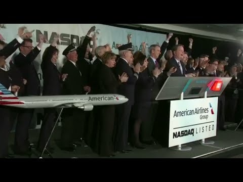 American Airlines Merger Celebration