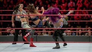 Ronda Rousey vs Nia | Banks vs Natalya vs Ember Moon vs Alexa Bliss Raw, June 11, 2018
