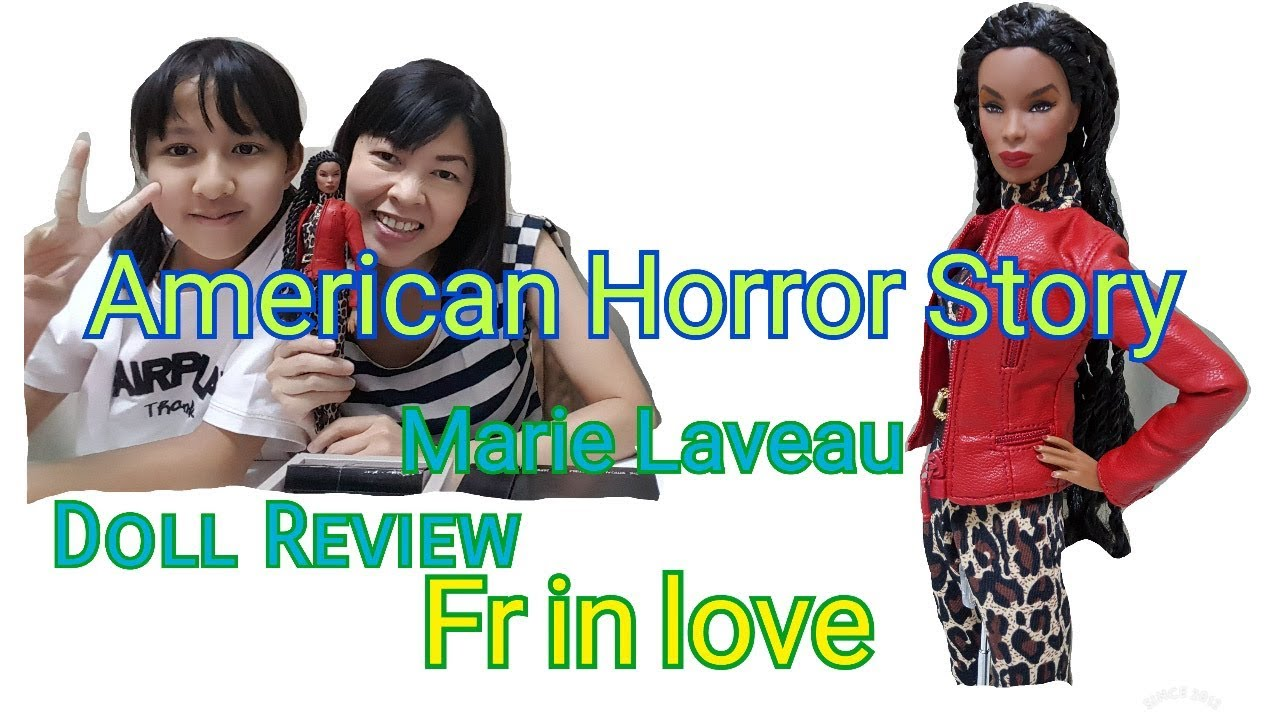 Fashion Royalty American Horror Story Marie Laveau Dressed