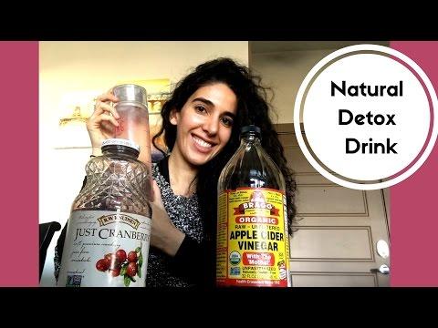 How to Naturally Detox || Apple Cider Vinegar & Cranberry Juice // Laila Alieh