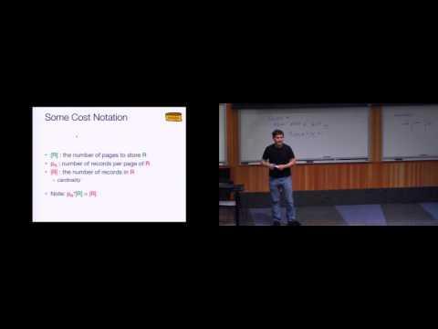 Lecture 04. JOIN Algorithms (CS 186, Spring 2015, UC Berkeley)