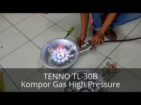 TENNO TL-30B Kompor Gas High Pressure/Tekanan Tinggi Manual