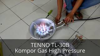tenno tl 30 kompor gas high pressure manual
