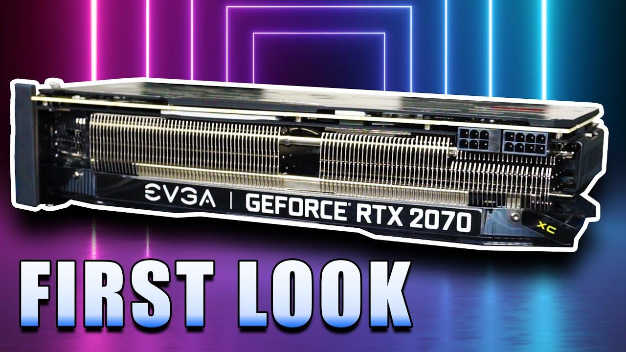 First Look: EVGA GeForce RTX 2070 XC Ultra