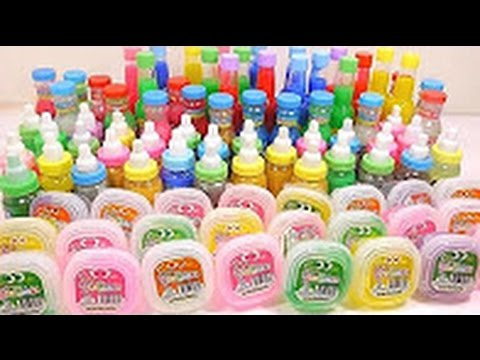 Combine Slime Colors Clay Case DIY Learn Colors Slime Icecream