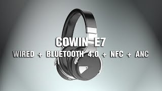 COWIN E7 - Wireless ANC Headset - Terapia del Desempaquetado
