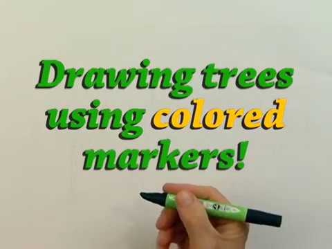 Drawing & Painting Tree's