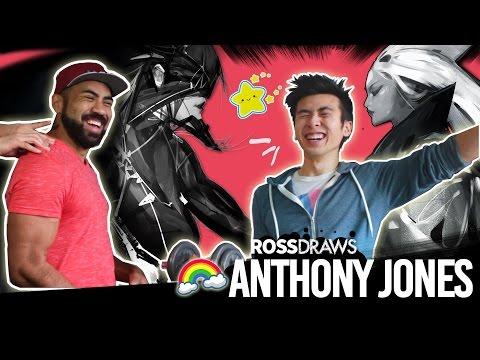 RossDraws COLLAB! (Anthony Jones!!)