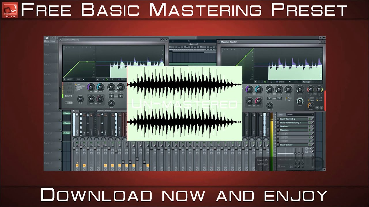 fl studio mastering presets