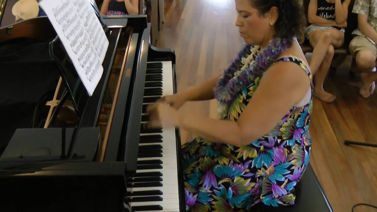 "Marti Kluth performs ""Cadenza from Piano Concerto No. 1"" by Keith Emerson"
