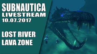 🎥 SUBNAUTICA - LOST RIVER - LAVA ZONE -  TWITCH GAMEPLAY LET'S PLAY DEUTSCH GERMAN thumbnail