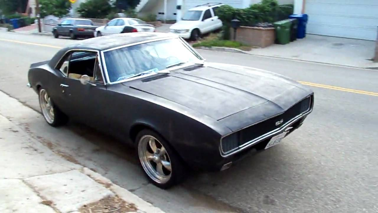 Camaro chevy camaro ss rs : Art's 1967 Chevy Camaro RS SS - YouTube