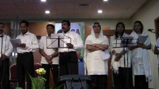 Nanniyode njaan .... Malayalam Christian  Worship song by YMCA Abu Dhabi Choir 2011
