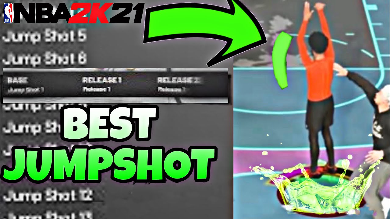 BEST JUMPSHOT ON NBA2K21! EASY AUTOMATIC GREENLIGHTS FOR ANY BUILD! HIGHEST GREEN WINDOW ON NBA2K21!