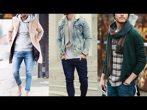 Men's winter season outfits 2018-2019 //new style winter fashion collection for boys