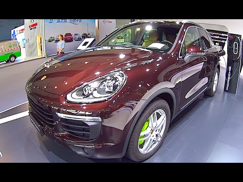 porsche cayenne s e hybrid 2016 2017 exterior interior review youtube. Black Bedroom Furniture Sets. Home Design Ideas