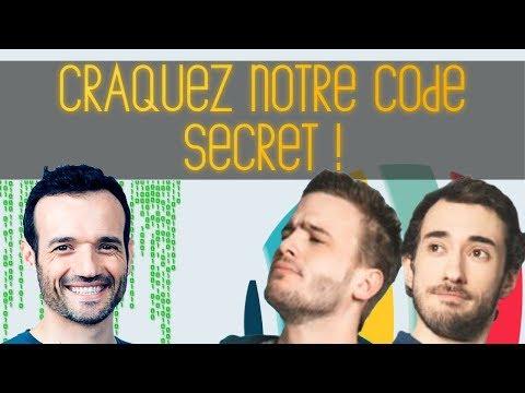 Un Code Secret à Decrypter pour vous et l'équipe du Tatou