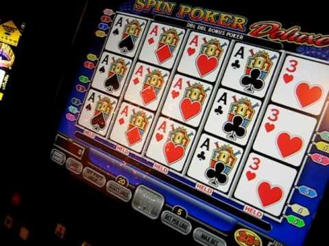 Video Poker Jackpot - Aces with Kicker Dealt - YouTube