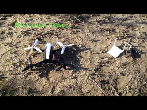 How to configure Xiaomi Router with Parrot Bebop Drone + range test
