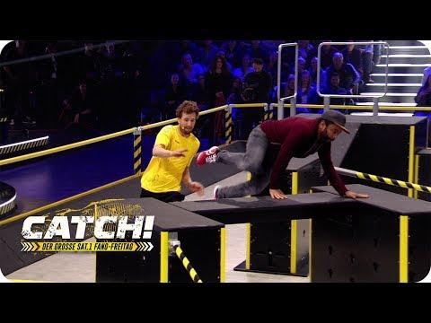 Luke rennt um sein Leben! Obstacle Race (Spiel 6) – Teil 2 – CATCH! Der grosse SAT.1 Fang-Freitag