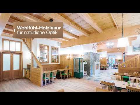 Wohlfühl-Holzlasur für natürliche Optik
