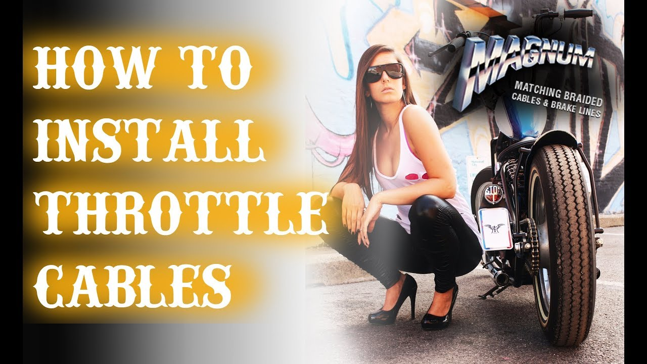 hight resolution of how to install throttle cables on your harley davidson