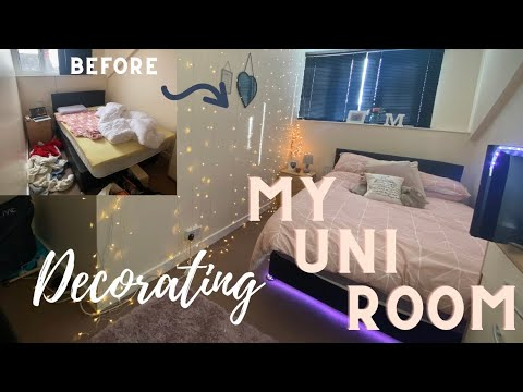 DECORATING MY UNI ROOM // MOVING INTO UNI IN LEEDS // THIRD YEAR UNI ROOM TOUR / Molly Kennedy