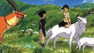 Princess Mononoke Ashitaka To San Joe Hisaishi もののけ姫 アシタカとサン 久石譲