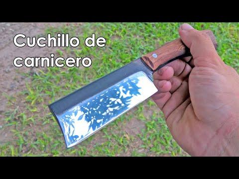 Fabricación De Pequeño Cuchillo De Carnicero