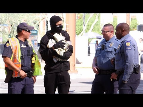 Bank Robber Prank
