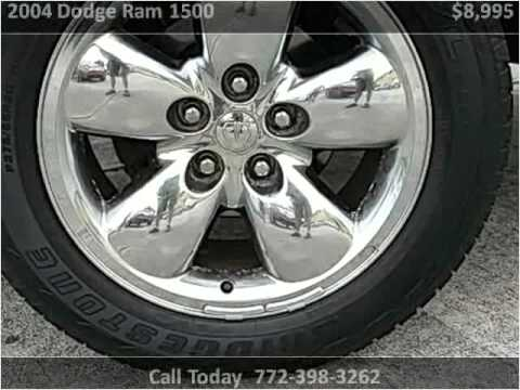 2004 Dodge Ram 1500 Used Cars Port St. Lucie FL