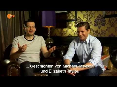 Allen Leech and Rob James Collier German interview for ZDF