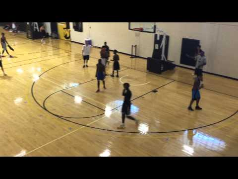 2018 MJ Armstrong 6'3 Gaston Day School  - App State Elite Camp 08/2015