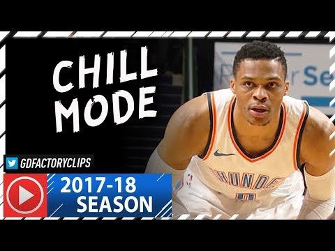 Russell Westbrook Full Highlights vs Hornets (2018.01.13) - 25 Pts, 10 Reb, 7 Ast, Chillin