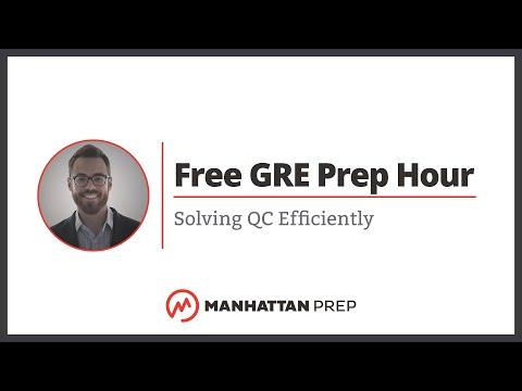 Free GRE Prep Hour: 4/11/2018   Manhattan Prep