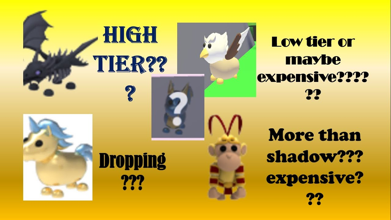 Every Adopt Me Legendary Pet Value List 2020 Roblox L Adopt Me After Kitsune Update Youtube