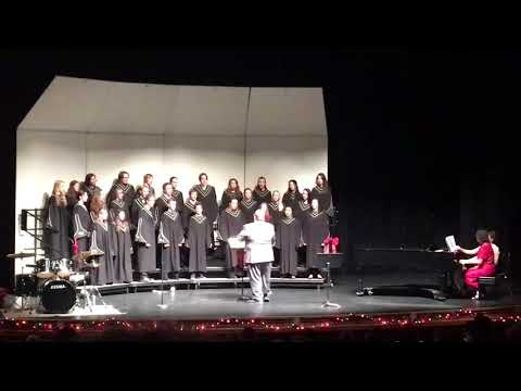 Pinedale High School Choir Sings Hava Nagila