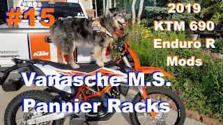 2019 KTM 690 Enduro Mods #15 - Vanasche Pannier Rack