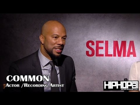 Common & Director Ava DuVernay Talk 'Selma', Importance Of This Film & More