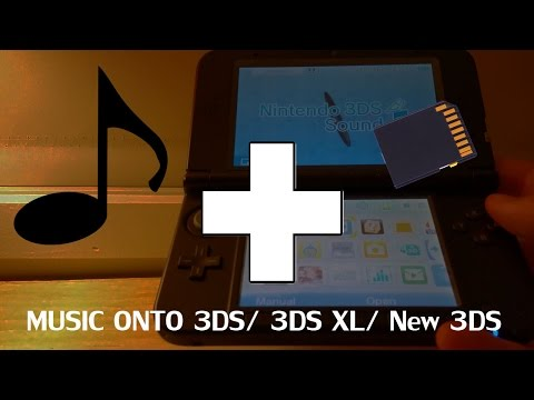 How to put music onto your Nintendo 3DS3DS XL New 3DS