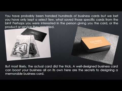 What information should be put on your Metal Business Card