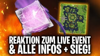 REAKTION zum LIVE EVENT & ALLE INFOS + EVENT GEWONNEN! 🔥💎 | Fortnite: Battle Royale