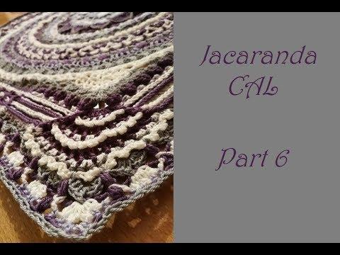 Jacaranda Cal By Haaksteek Part 6 Video By Saartje Youtube