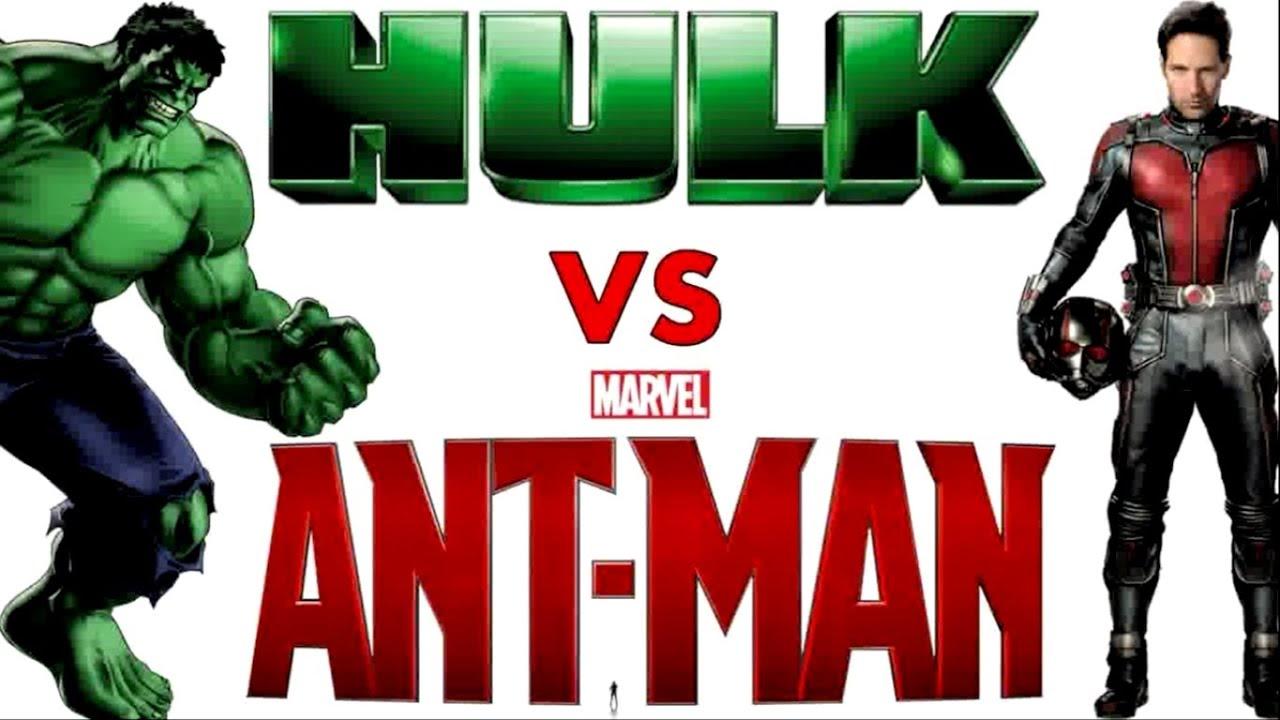 Hulk Vs Ant Man Never Seen Before Youtube